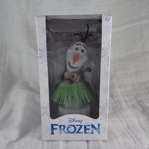 Disney Olaf Hula Wobble Figurine - New